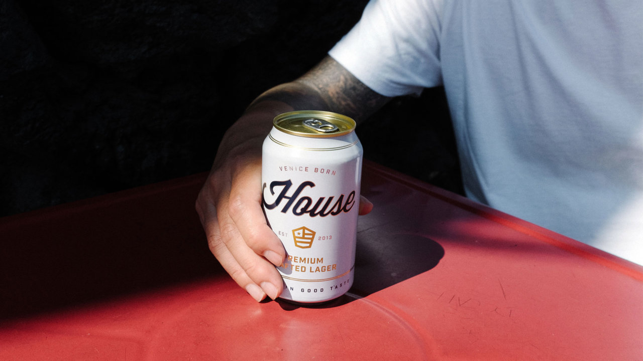 House Beer Art Direction Photography by Colony