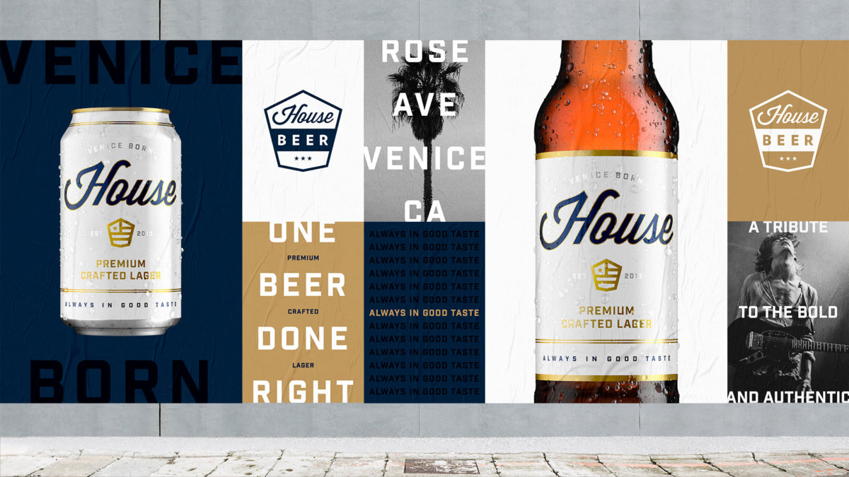 House Beer Campaign Art Direction by Colony