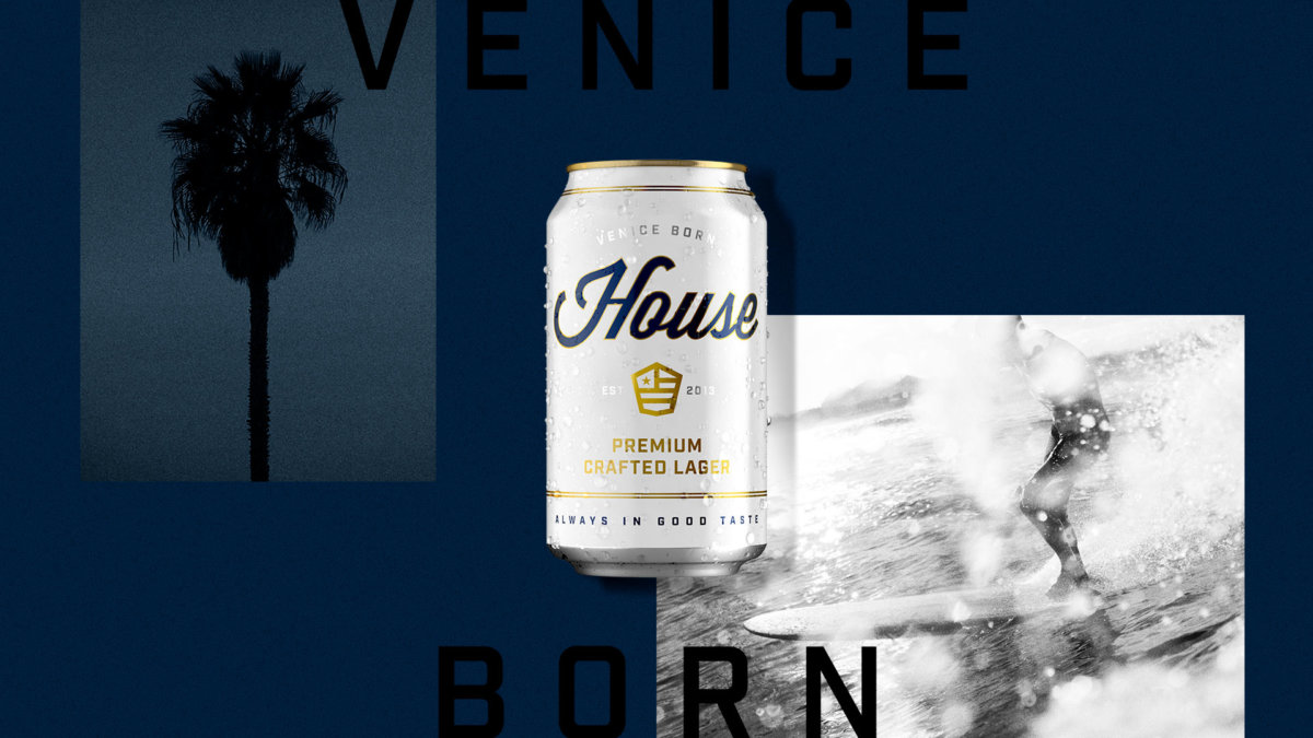 House Beer Brand Art Direction by Colony