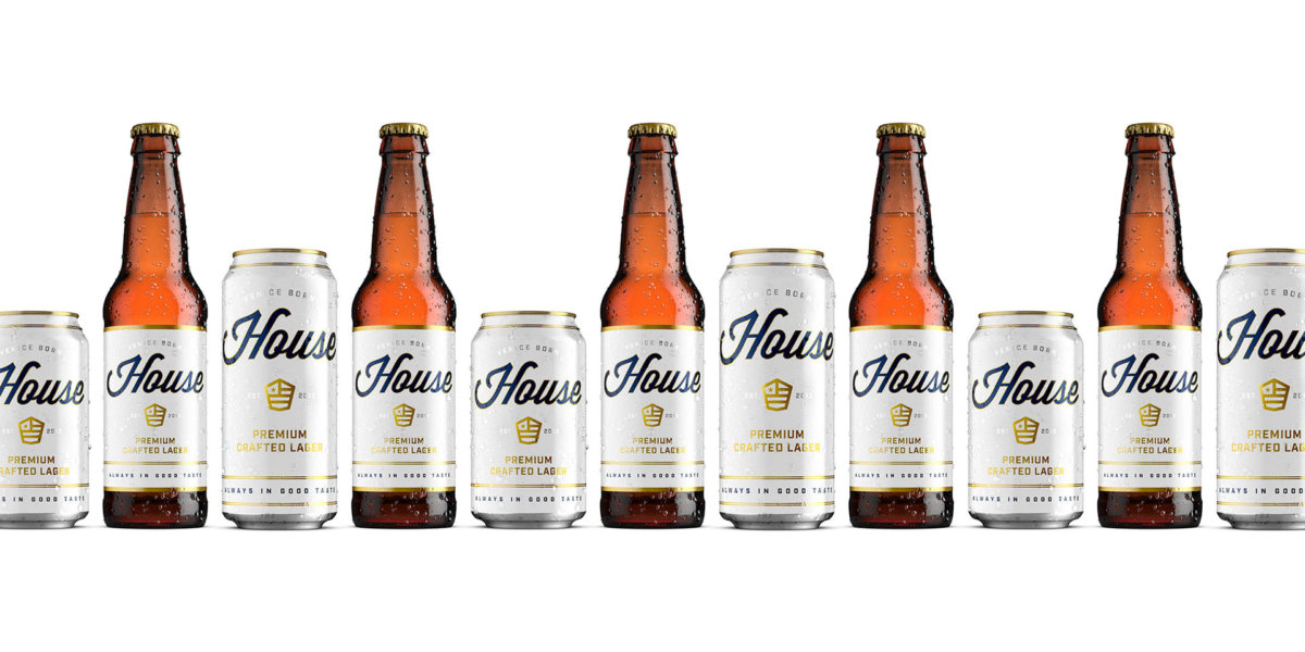 House Beer Packaging Design by Colony