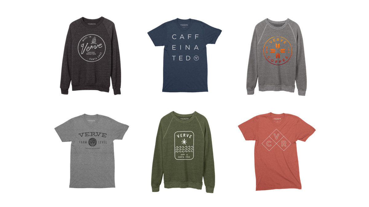Verve Merchandise Design by Colony