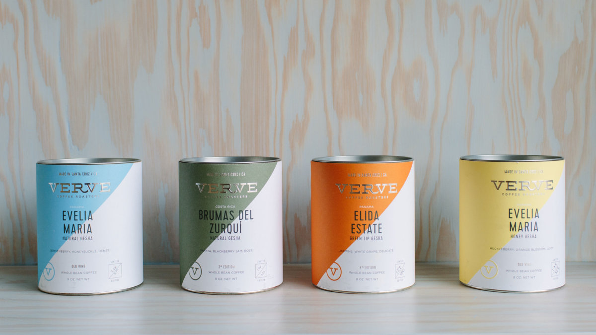 Verve Gesha Coffee Packaging Design by Colony