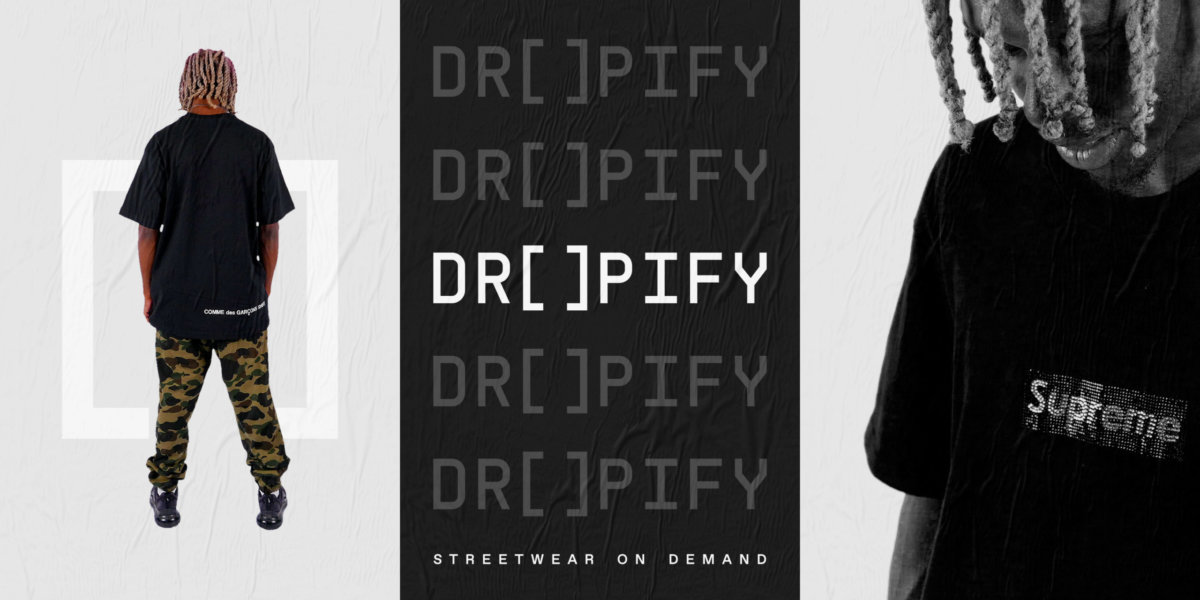 Dropify Campaign Art Direction by Colony