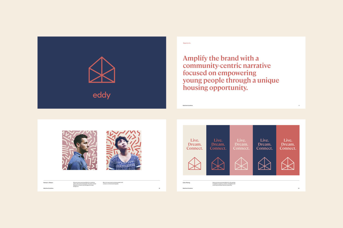 Eddy Co-Living Brand Guidelines by Colony
