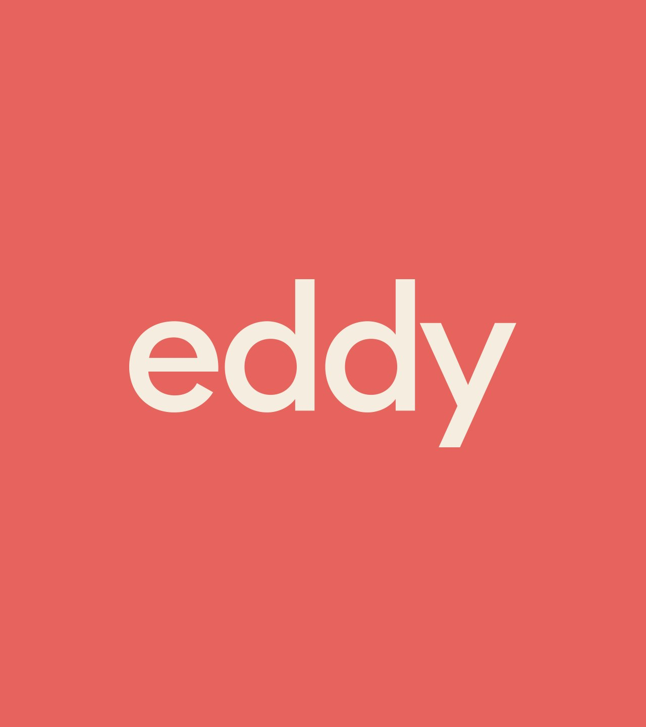 Eddy Co-Living Brand Identity by Colony