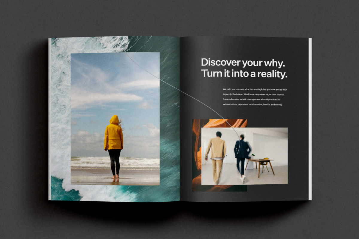 Enso Wealth Management Collateral Design by Colony