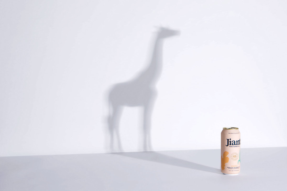 Jiant Kombucha Art Direction by Colony