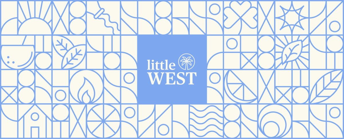 Little West Brand Identity by Colony