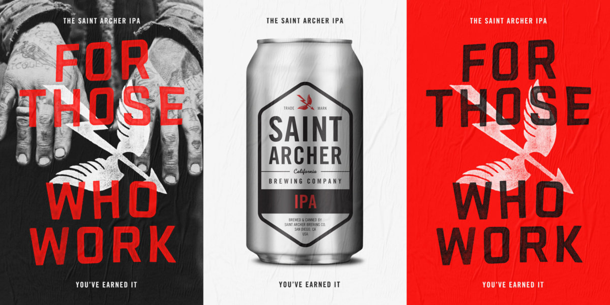 Saint Archer IPA Campaign Brand and Design by Colony