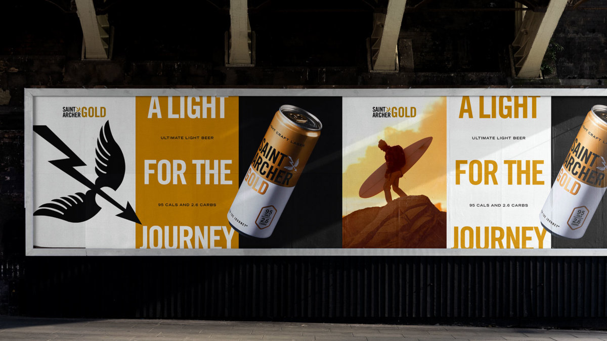 Saint Archer Gold Campaign Branding and Design by Colony