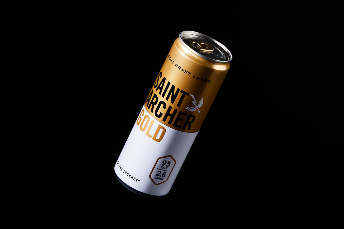 Saint Archer Gold Packaging Branding Design by Colony