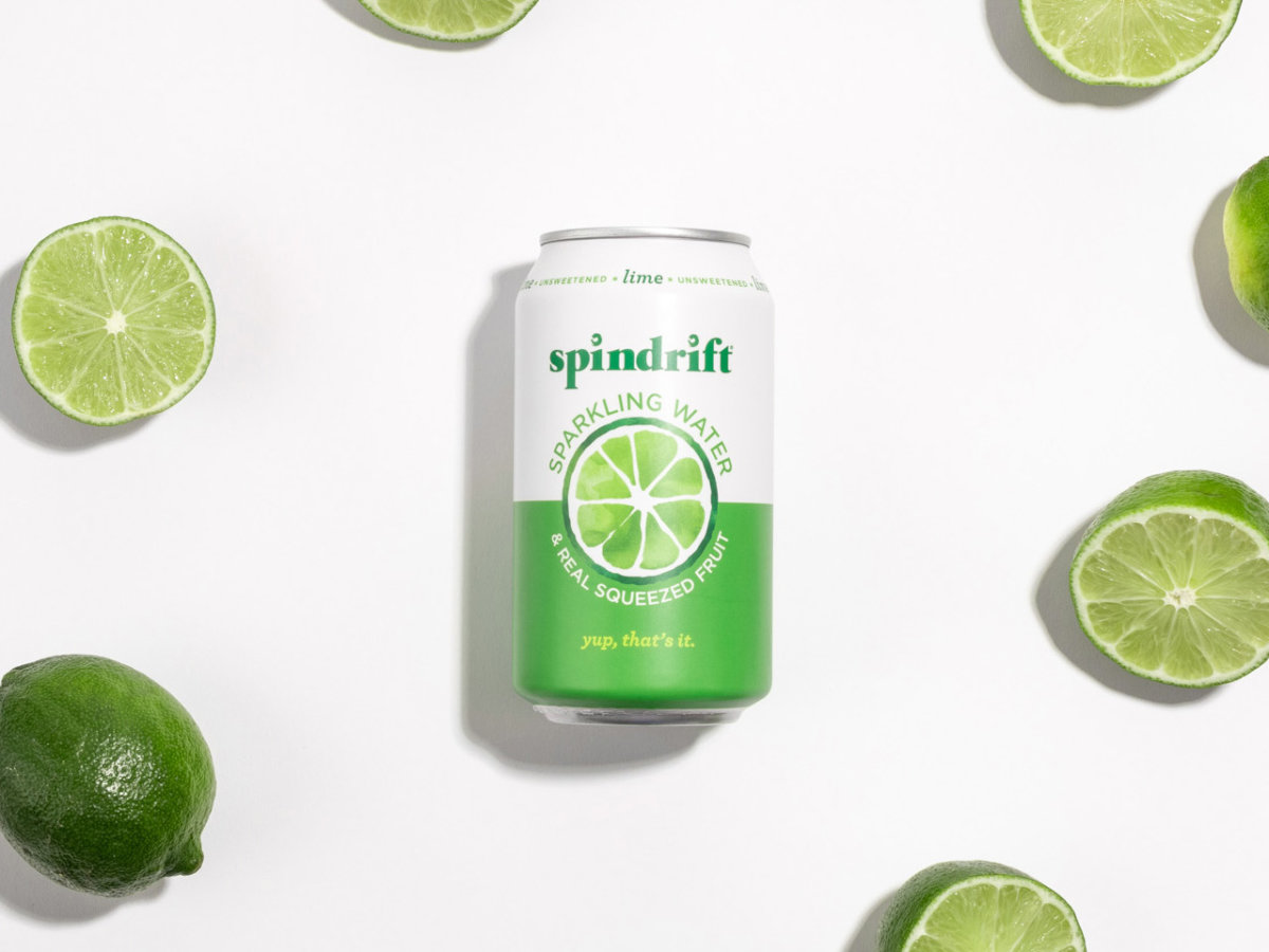 Spindrift Lime Packaging Design by Colony